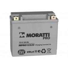 Аккумулятор MORATTI 12В 20 А/ч Nano GEL  (HARLEY -DAVIDSON)