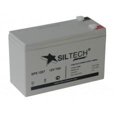 Аккумулятор SILTECH 12В 7 А/ч AGM SPS